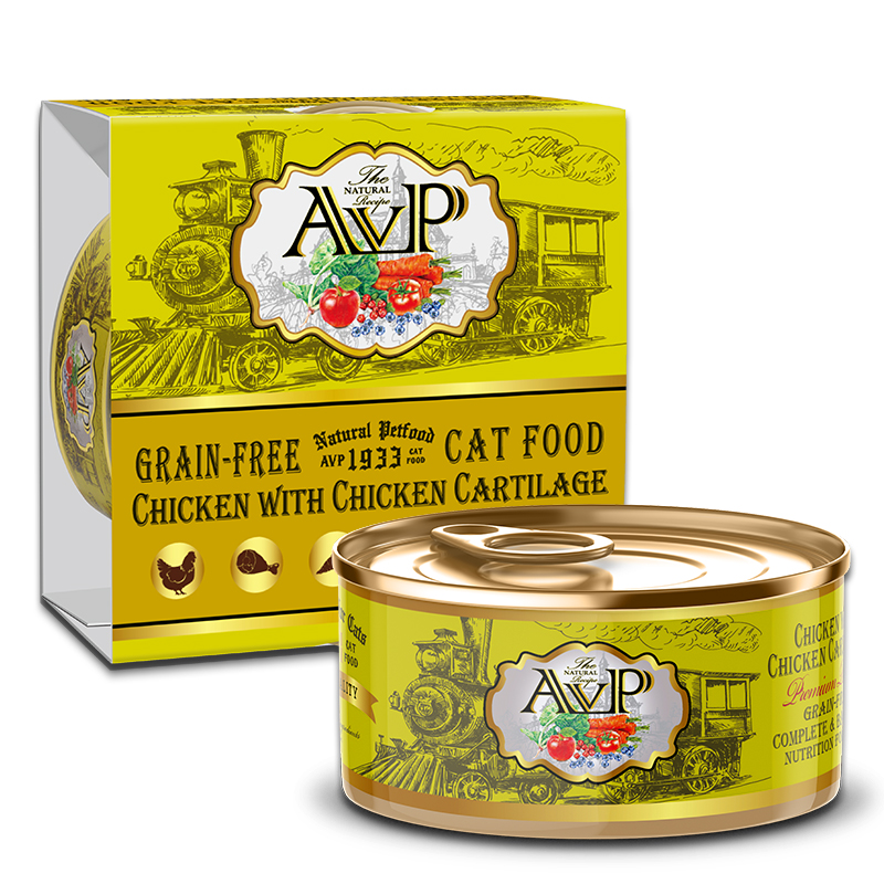 AVP®1933 Chicken With Chicken Cartilage Complete Grain-Free Wet Cat Food